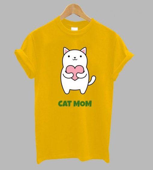 Cat Mom T Shirt ZNF08