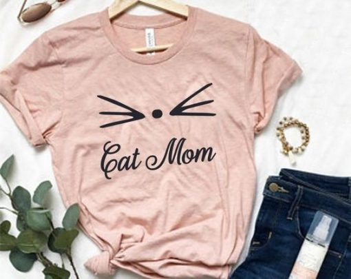 Cat Mom YTSHIRT ZNF08