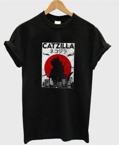 Catzilla t-shirt ZNF08