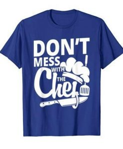Chef kitchen T Shirt ZNF08
