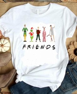 Christmas-Characters-Elf-Grinch-Kevin-Friends-shirt ZNF08