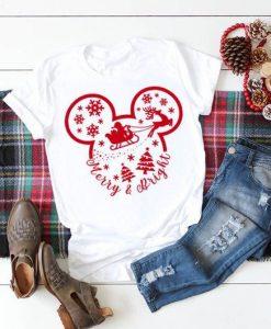 Christmas Disney Shirt ZNF08