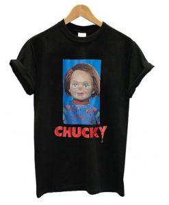 Chucky Black T shirt ZNF08
