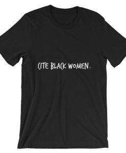 Cite Black Women Short-Sleeve Unisex T Shirt