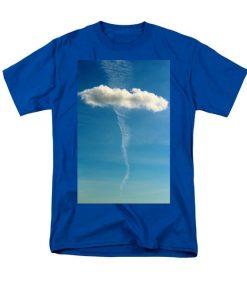 Cloud Design T-Shirt ZNF08