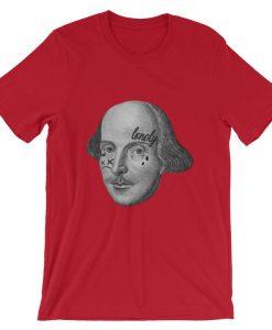 Face Tatt Shakespeare Unisex T Shirt