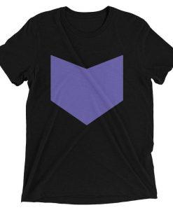 Minimalist Hawkeye Design Short sleeve T Shirt