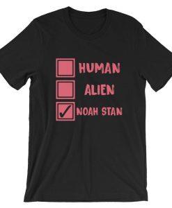 Noah Stan Human Alien Short-Sleeve T Shirt