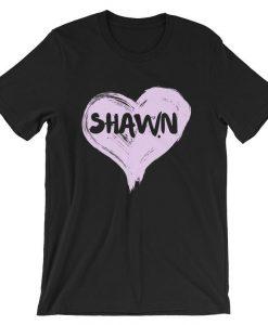 Shawn Heart Short-Sleeve Unisex T Shirt