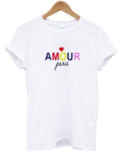 amour paris t-shirt ZNF08