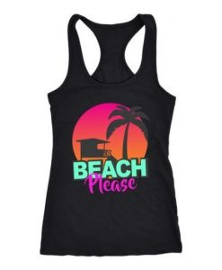 beach-please-Tanktop ZNF08
