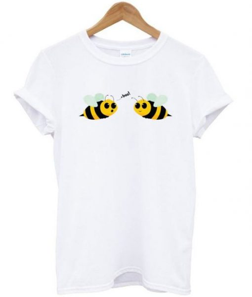boo bees t-shirt ZNF08