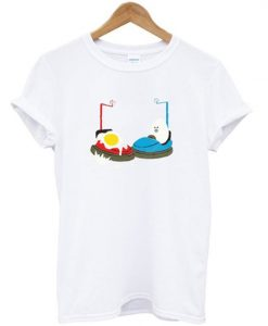 bumper car egg t-shirt ZNF08