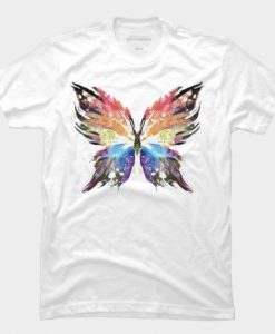 butterfly art T-Shirt ZNF08