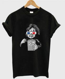 chucky good guys pop corn t-shirt ZNF08