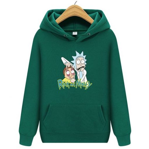2020 Funny Rick And Morty Hoodie ZNF08