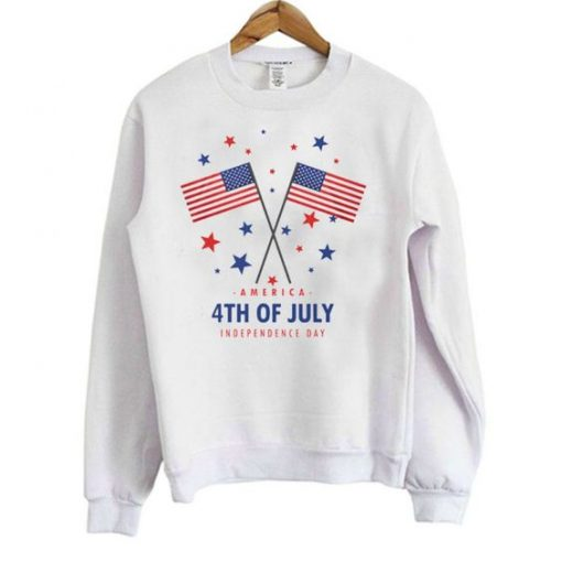 4th Of July Independence Day Sweatshirt ZNF08