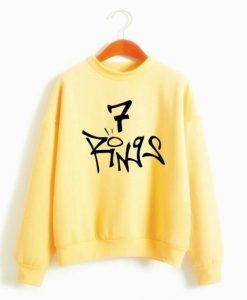 7 Rings Sweatshirt ZNF08