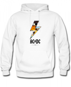 AC DC 1973 hoodie ZNF08