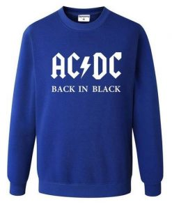 ACDC Rock Band Sweatshirt ZNF08