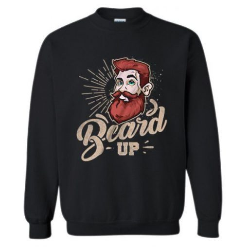 About Beard Sweatshirt ZNF08