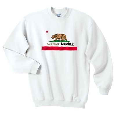 About California Loving Sweatshirt ZNF08