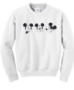 About Cute Mickey Mouse Sweatshirt ZNF08