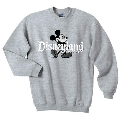 About Disneyland Resort Sweatshirt ZNF08