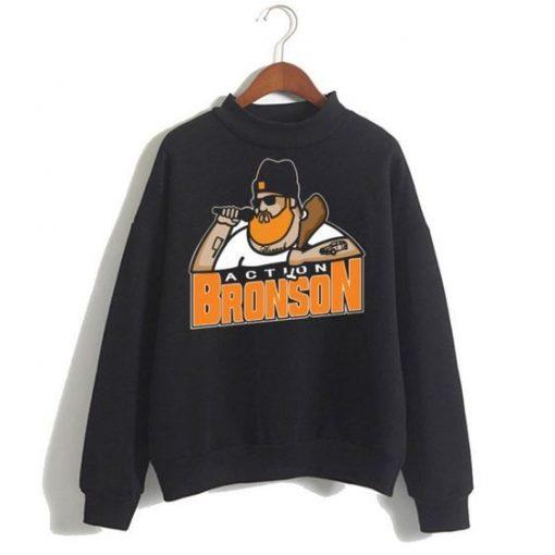Action Bronson Black Sweatshirt ZNF08