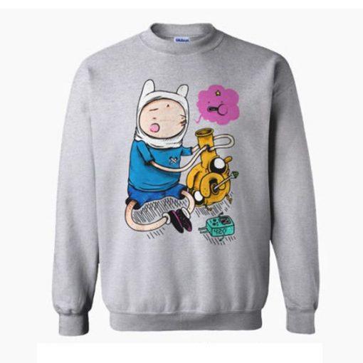 Adventure Time Bongs Sweatshirt ZNF08