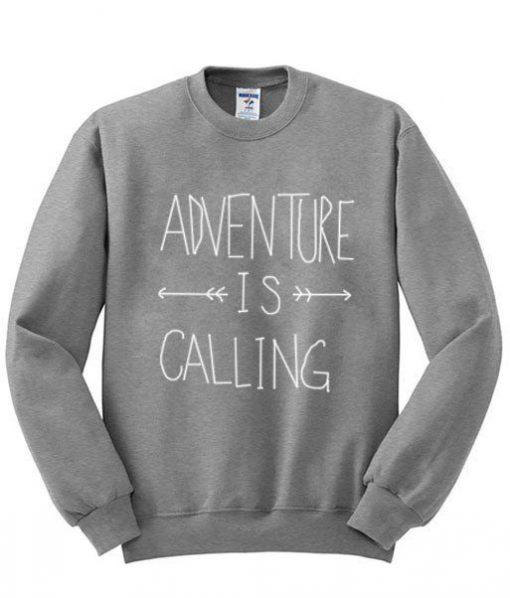 Adventure is Calling Sweatshirt ZNF08