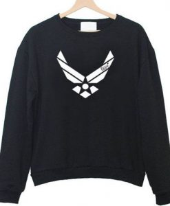 Air force racerback front sweatshirt ZNF08