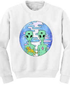 Aliens with cat sweater ZNF08