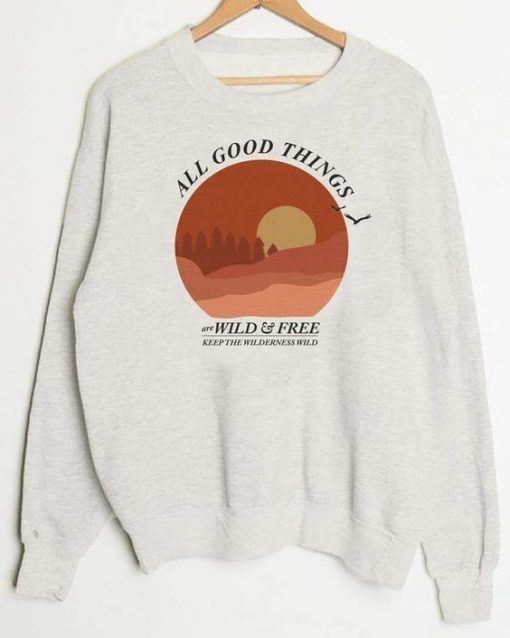 All Good Things sweatshert znf08