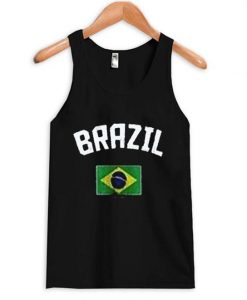 Brazil Flag Tank top ZNF08