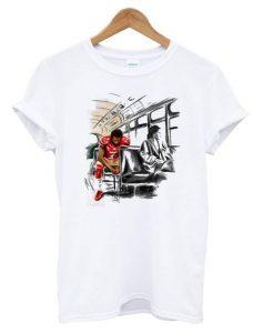Colin Kaepernick and Rosa Parks T shirt ZNF08