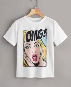 Comic OMG Tshirt ZNF08