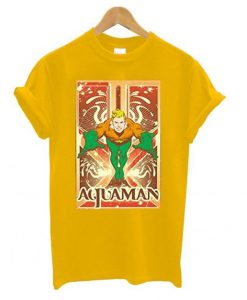 Comics Aquaman T shirt ZNF08