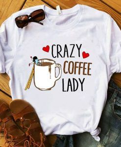 Crazy Coffe Day T-shirt ZNF08