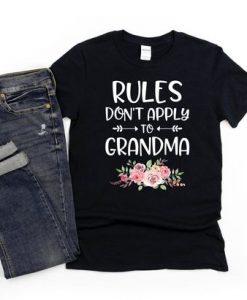 Cute tshirt gift for a proud grandma TSHIRT ZNF08