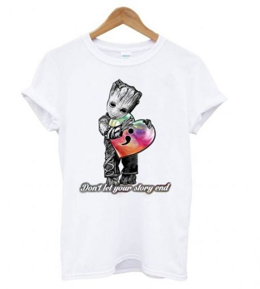DON`T LET YOUR STORY END TSHIRT ZNF08