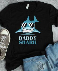 Daddy shark Tshirt ZNF08