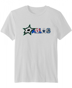 Dallas Sports Team Logo Dallas Stars TSHIRT ZNF08