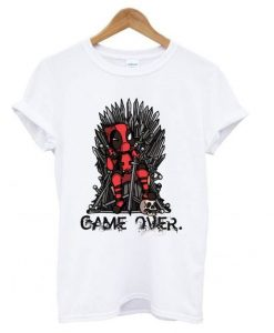 Deadpool Game Over T shirt ZNF08