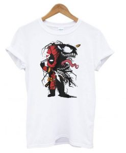Deadpool and Venom T shirt ZNF08