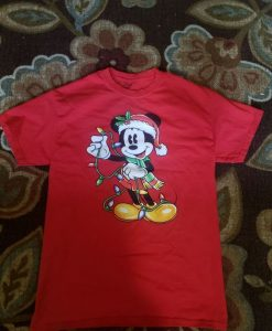 Disney Christmas T-Shirt ZNF08