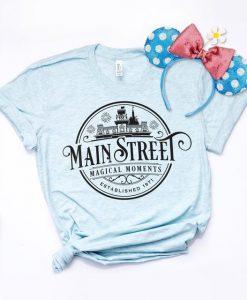 Disney Main Street USA Shirt ZNF08