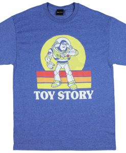 Disney Pixar Toy Story Vintage Style Buzz Lightyear Men's T-Shirt ZNF08