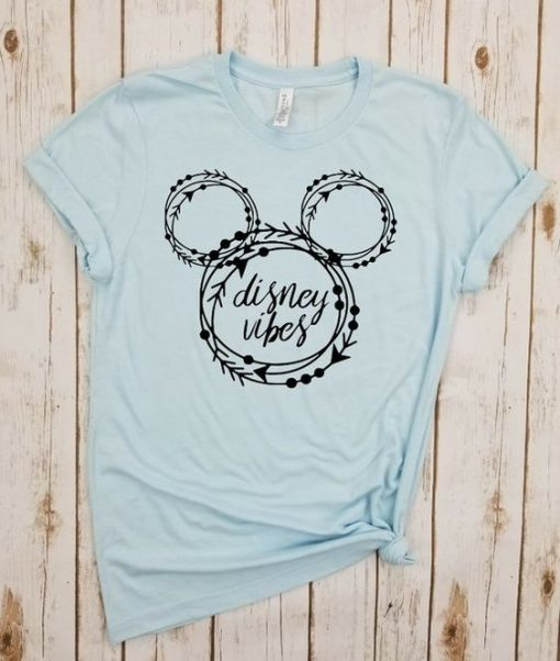 Disney Vibes Circle - Shirt ZNF08