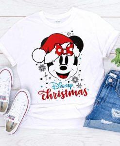 Disney christmas Mickey Tshirt ZNF08